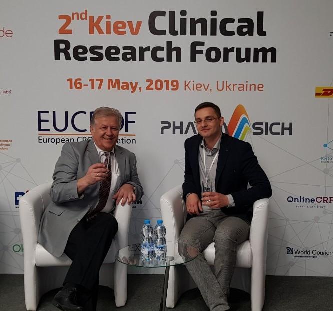 2nd Kyiv Clinical Research Forum: новий рівень у клінічних