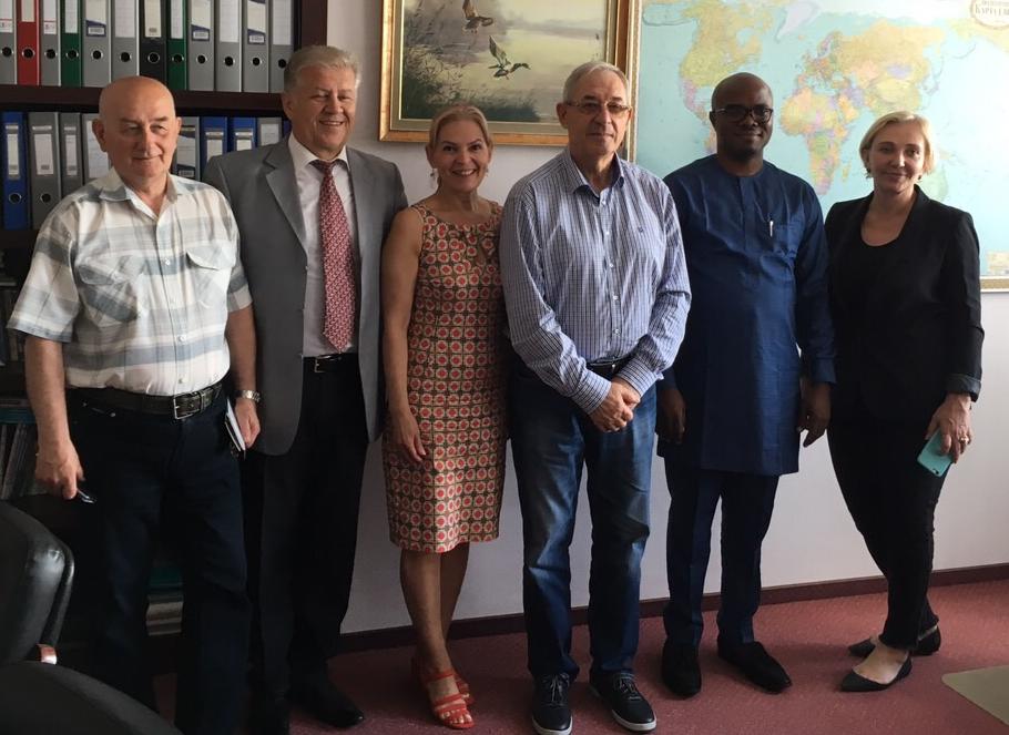 В «Екофарм» обговорили співпрацю з Нігерією