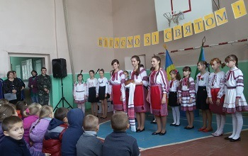 Gifts for Ulashanovka's school students