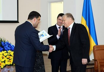 Chief Executive Officer of Ecopharm was awarded by Ukrainian Government